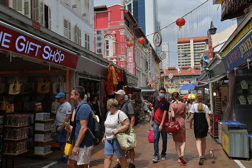 Tourist arrivals are projected to fall by up to 30 per cent this year, as Chinese tourists have thinned out due to travel restrictions aimed at containing the spread of the novel coronavirus.