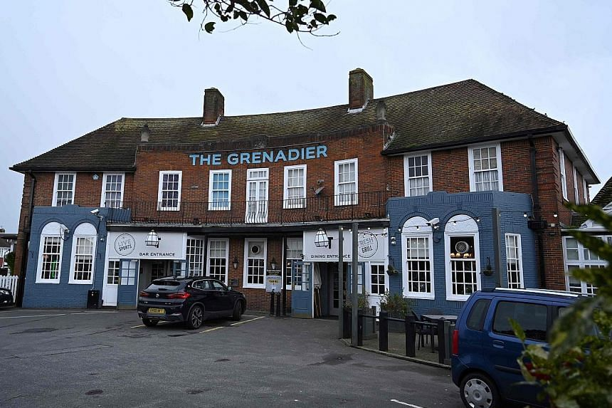 Some employees at The Grenadier pub at Hove, East Sussex, which businessman Steve Walsh (right), 53, visited before he was hospitalised, have been isolated. Mr Walsh, a father of two children, remains in hospital, and his family members have been iso