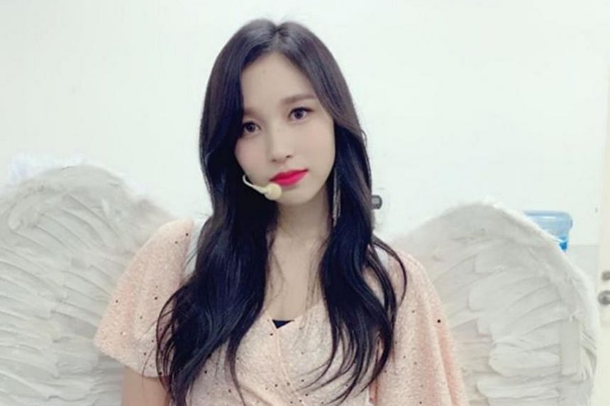 Mina was reportedly targeted by netizens after ties between South Korea and Japan became frosty over economic matters.