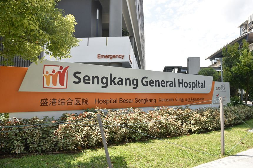 The man was undergoing a medical examination at Sengkang General Hospital when he turned hostile towards medical staff and an auxiliary police officer was called in for assistance.
