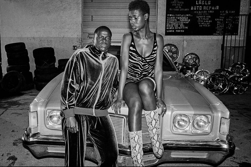 In Queen And Slim by award-winning music video director Melina Matsoukas, Daniel Kaluuya's Slim (left) and Jodie Turner-Smith's Queen are on a Tinder date.