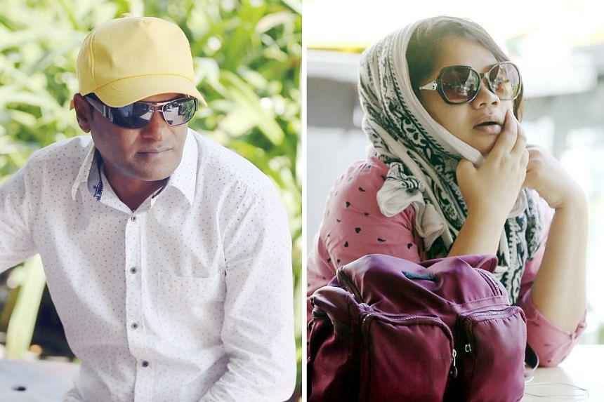 Malkar Savlaram Anant (left) and Priyanka Bhattacharya Rajesh were each sentenced to five years and six months' jail yesterday.