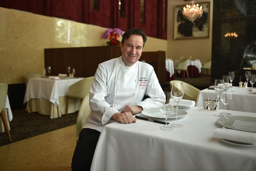 Les Amis' chef Sebastien Lepinoy says the award caps a five-year-long quest by the restaurant - which was rated four stars in 2013 - to further elevate its standards.