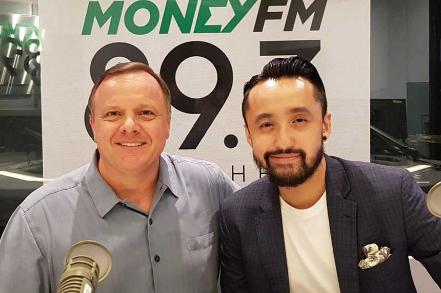 Join Money FM's Glenn van Zutphen (left) as he speaks with Albert Tan, founder of String Travel, an app designed for users to ease their travel planning by enabling them to reference a shared portal of user-generated itineraries.
