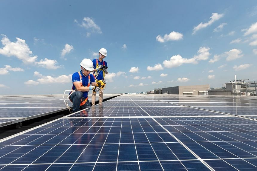 Sembcorp Solar will install, own and operate more than 20,000 solar panels with a total capacity of 8.2 megawatt-peak for Singapore Airlines and SIA Engineering Company.