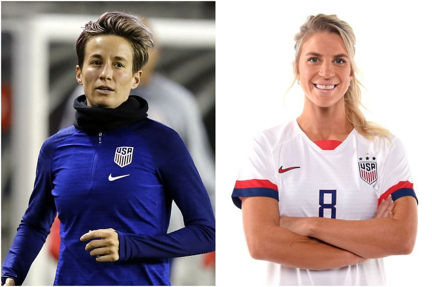 Megan Rapinoe collected the Golden Boot and Golden Ball from the 2019 World Cup while Julie Ertz's influential displays in a holding midfield role in France saw her voted US Soccer's Female Athlete of the Year for 2019.