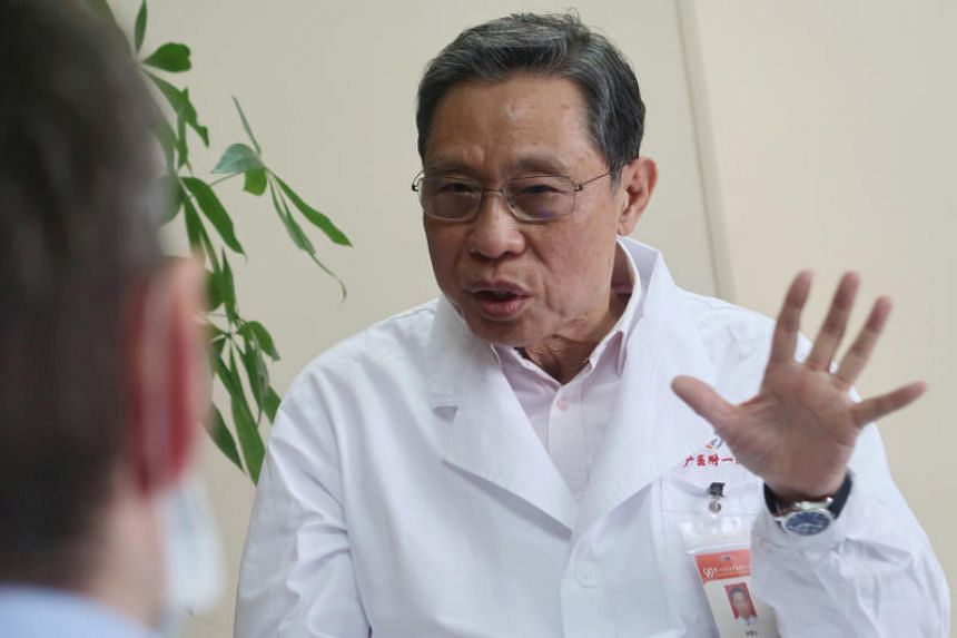 Dr Zhong Nanshan stressed that only one patient reported a 24-day incubation period.