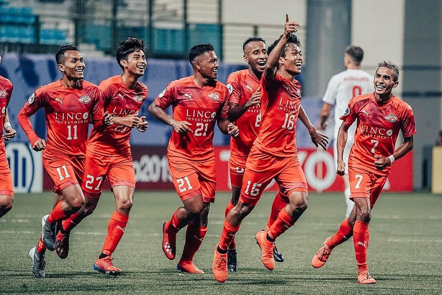 The good times look set to roll for Home United, whose last trophy came in the form of the 2013 Singapore Cup. PHOTO: FACEBOOK/HOMEUNITEDFC