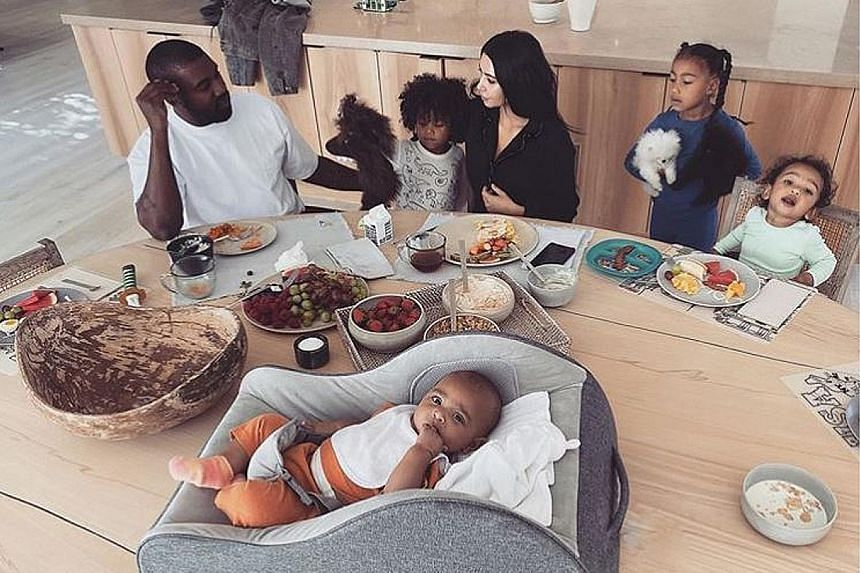 Reality television star Kim Kardashian West says her four children already take up a lot of her time and energy.
