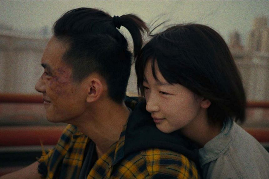 A still from Better Days starring Jackson Yee (left) and Zhou Dongyu, who both received nominations in the best actor and best actress categories respectively.
