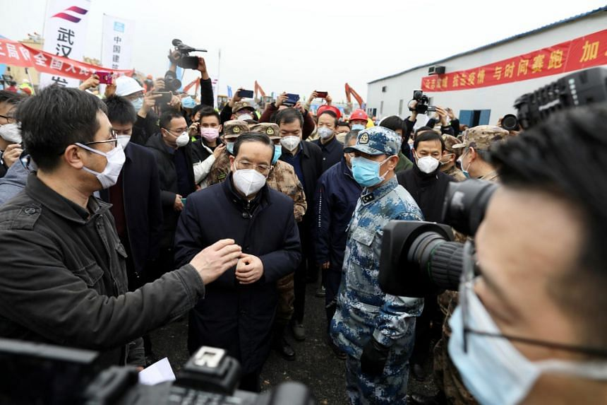 China removes party chief of virus epicentre province