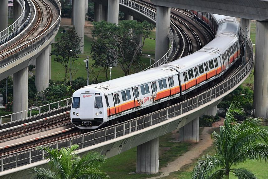 Commuters were told to add about 20 minutes to their train journeys between Choa Chu Kang MRT and Jurong East MRT stations.