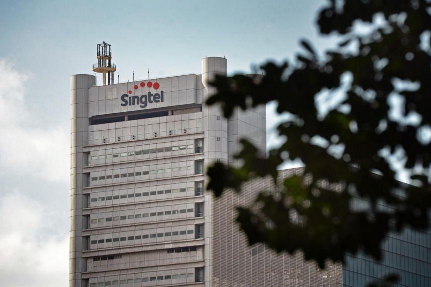 Singtel's operating revenue stood at $4.38 billion, down 5 per cent from $4.63 billion a year earlier.