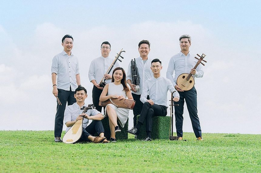 Ding Yi Music Company's online concert will feature a mix of uplifting and relaxing music.