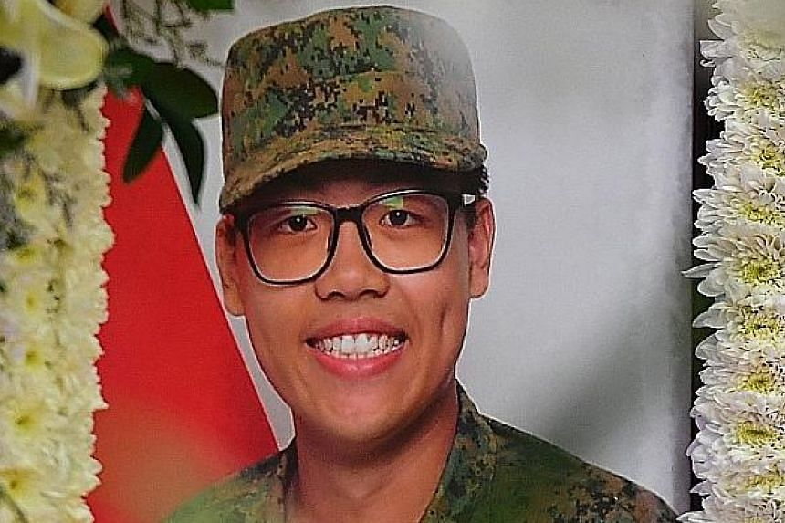 Tan Baoshu, 33, had been diagnosed with Stage 4 cancer and was granted a discharge not amounting to an acquittal last month. Corporal First Class Dave Lee, 19, died of heatstroke on April 30, 2018, after doing an 8km fast march days earlier.