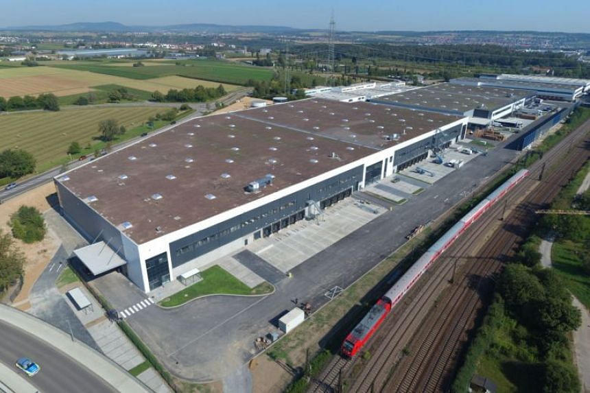 The Bosch Facility in Tamm is one of nine freehold German properties to be acquired by Frasers Logistics & Industrial Trust.