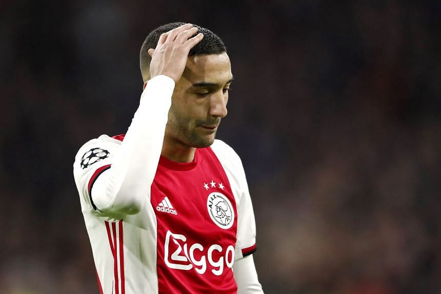 Ziyech (above) lost his father aged 10, two of his older brothers served prison time for burglary and he had drugs-related problems with the police as a teenager.