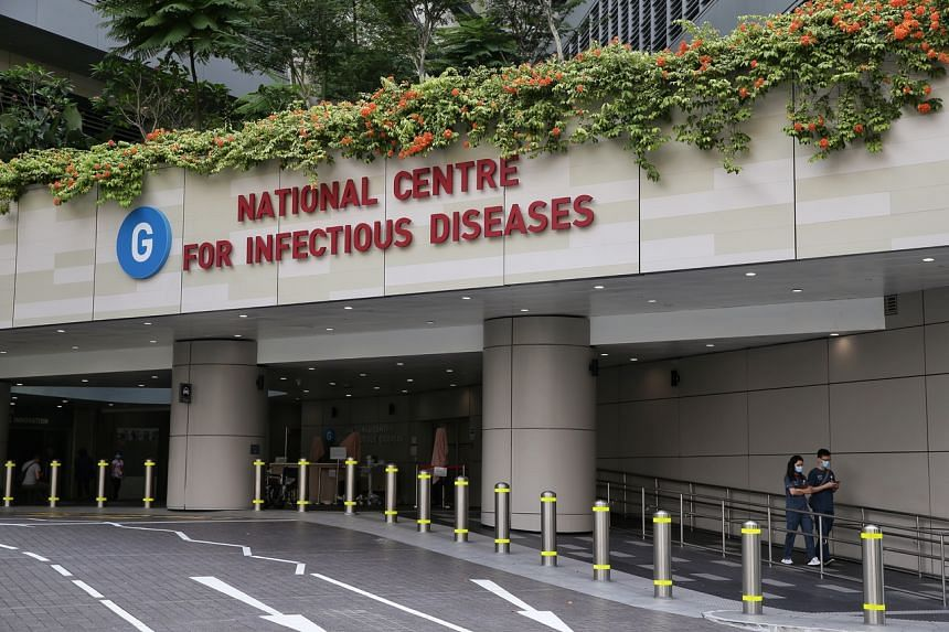 The National Centre for Infectious Diseases at Tan Tock Seng Hospital. Nine new cases of the coronavirus disease, Covid-19, were confirmed on Feb 14, 2020.