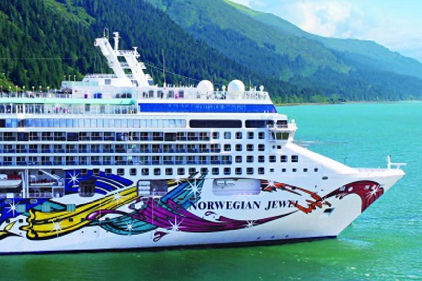 Health officials boarded the Norwegian Jewel shortly after it docked in Sydney on Friday (Feb 14).