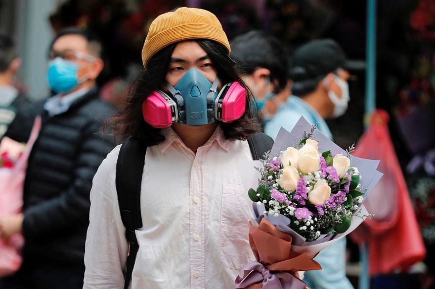 Hong Kong's flower markets are lamenting dismal Valentine's Day sales as the city battles the coronavirus outbreak.