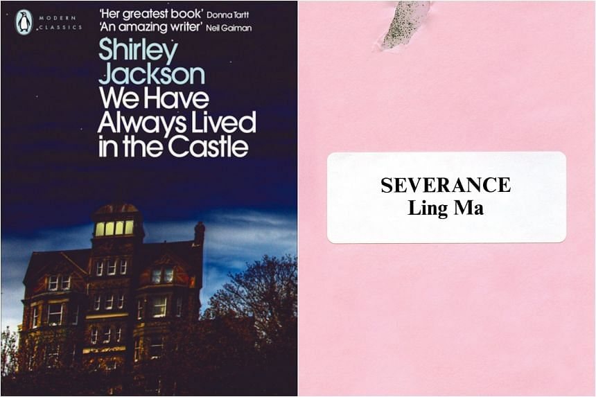 We Have Always Lived In The Castle by Shirley Jackson and Severance by Ling Ma.