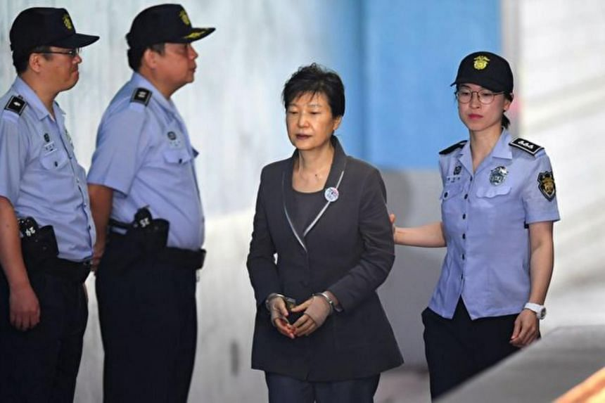 Former South Korean President Park Geun-hye was brought down in 2017 after huge street protests triggered by allegations that she and confidante Choi Soon-sil took bribes in return for government favours.