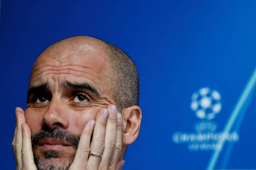Guardiola (above) reportedly has a break clause in his contract which means he can depart at the conclusion of this campaign should certain stipulations be met that satisfy the City hierarchy.
