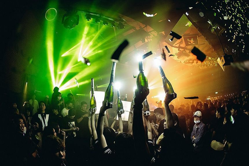 Some partygoers turned up with masks at Zouk last weekend.