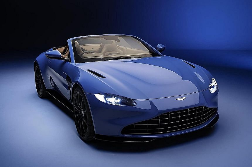 Aston Martin Vantage Roadster available by year end.