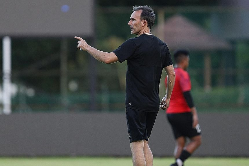 Sailors chairman Forrest Li plans to defer to his technical staff when it comes to footballing decisions. He has sanctioned five-figure monthly salaries to sign the likes of former Australia assistant coach Aurelio Vidmar (above). But the billionaire stre