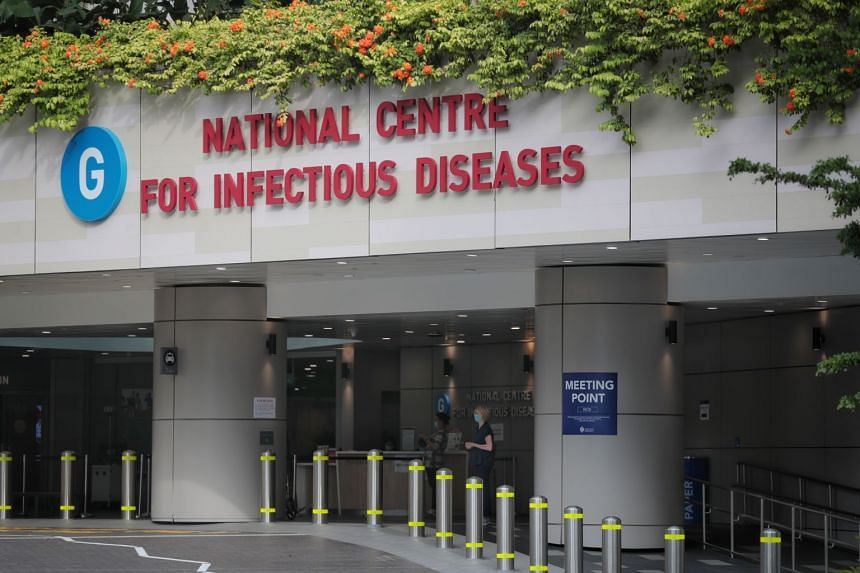 A view of the National Centre for Infectious Diseases on Feb 14, 2020.