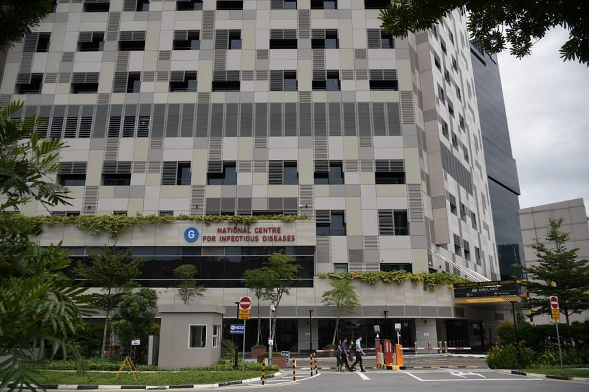 In the vicinity, Tan Tock Seng Hospital, the National Centre for Infectious Diseases (above) and KK Women's and Children's Hospital are handling coronavirus cases.