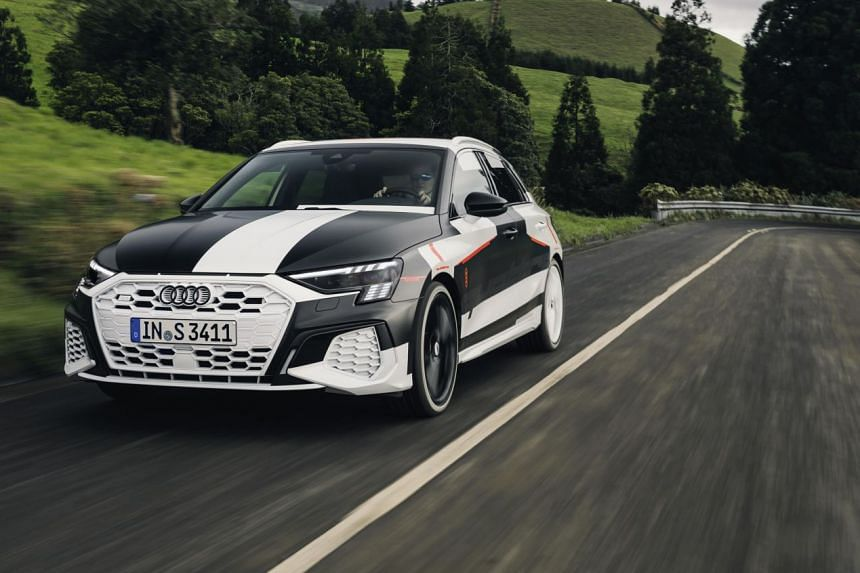 Audi A3 to arrive here next year.