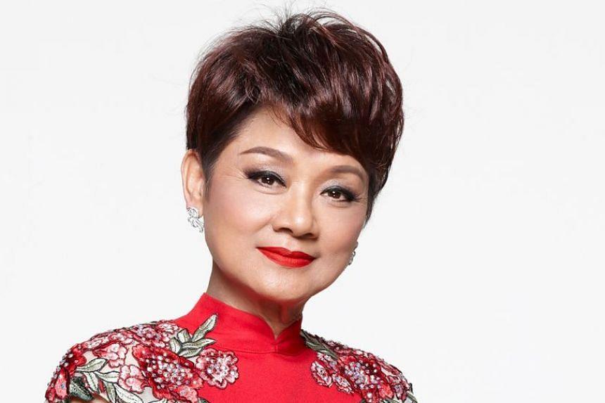 Hong Kong Cantopop diva Frances Yip.