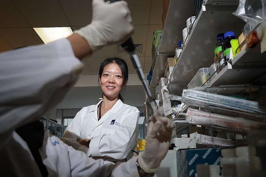 Professor Lisa Ng was part of a team at A*Star that developed a kit which could test for the Sars virus in patient blood samples in 2003.