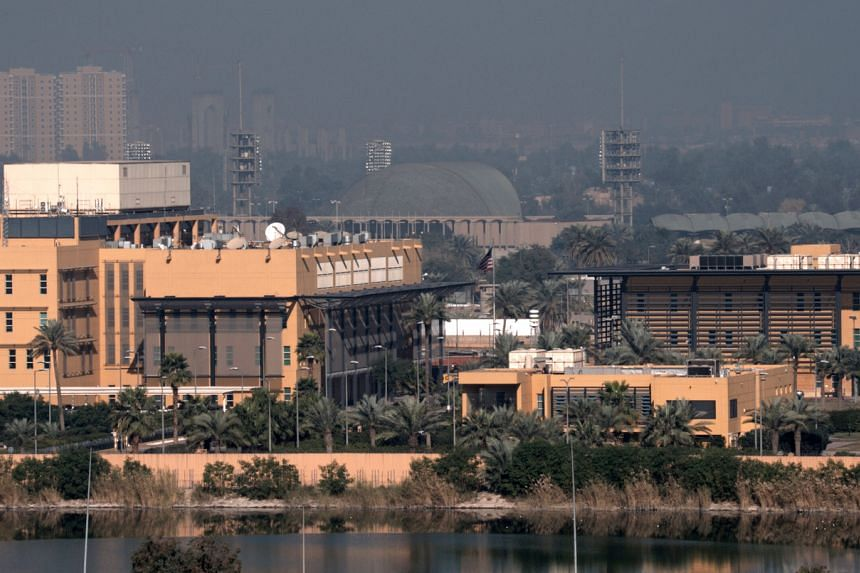 Rockets hit near United States embassy in Baghdad