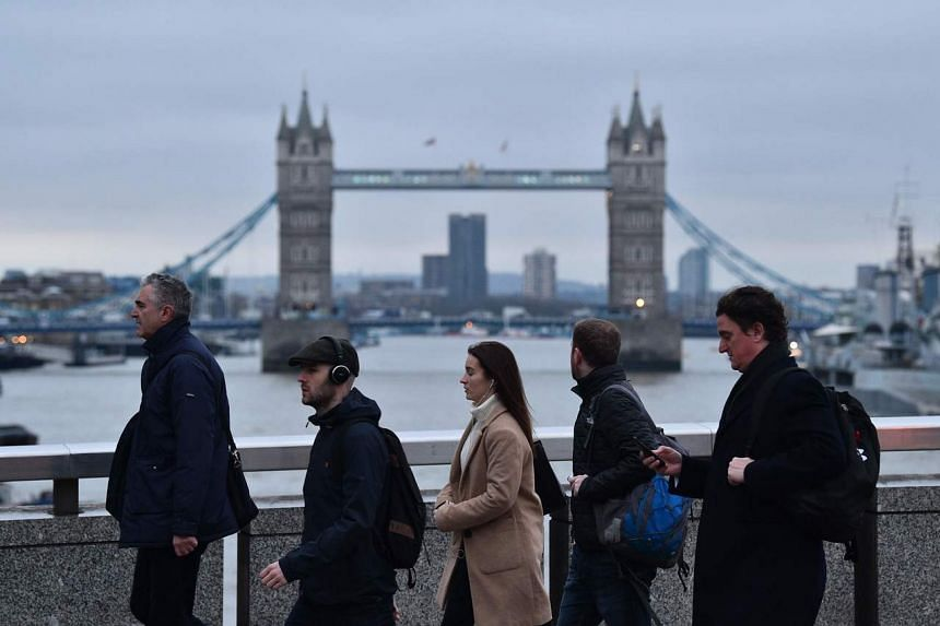 Britain formally left the European Union at the end of January but a transition period is in effect until Dec 31, 2020.