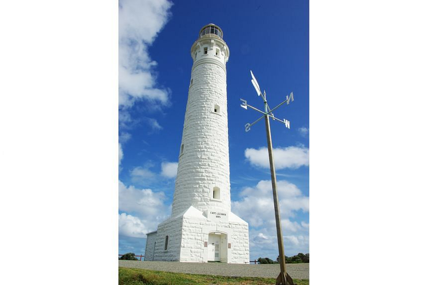 The historic Cape Leeuwin Lighthouse, which marks where the Southern and Indian Oceans meet.