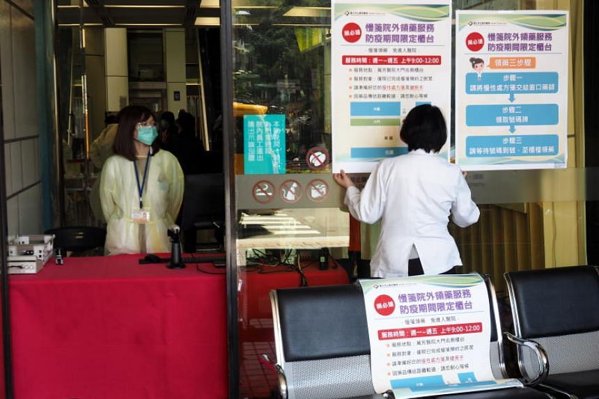 Taiwan reports its first coronavirus death