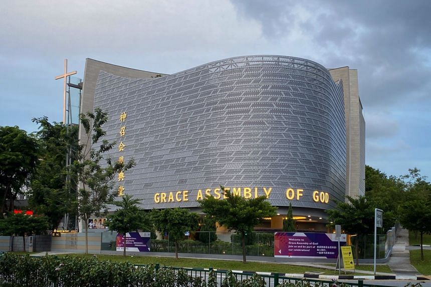 A view of The Grace Assembly of God church along Tanglin Road on Feb 12, 2020.