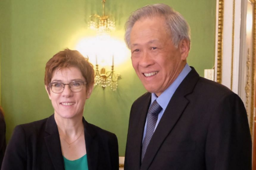 Minister for Defence Ng Eng Hen met with German Federal Minister of Defence Annegret Kramp-Karrenbauer on the sidelines of the 56th Munich Security Conference.