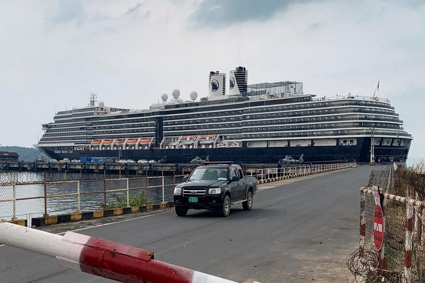 The MS Westerdam, which left Hong Kong on Feb 1 for a 14-day cruise, spent nearly two weeks at sea after being turned away from at least five ports.