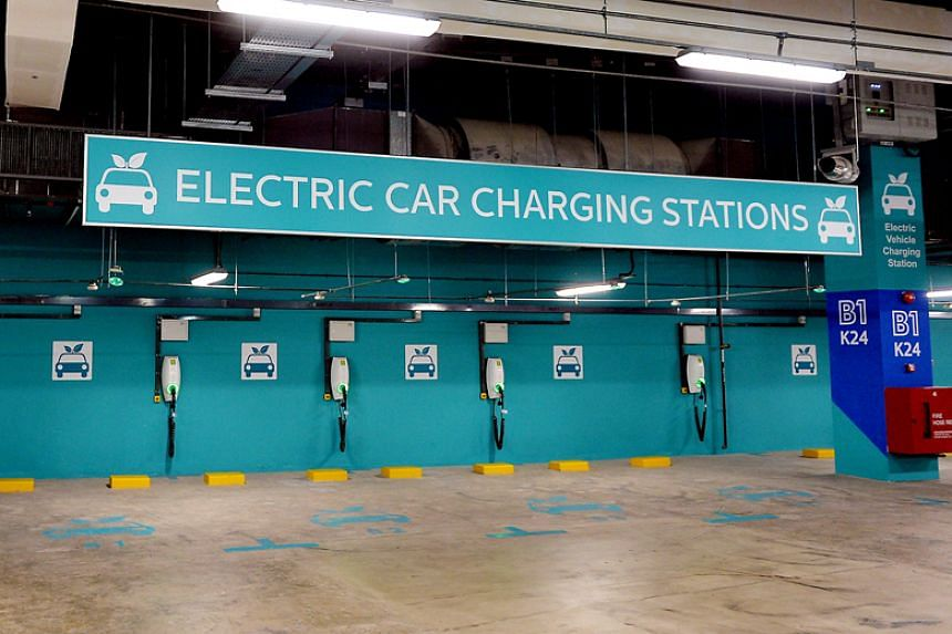 Singapore will expand the EV charging infrastructure significantly from 1,600 points now to 28,000 by 2030.