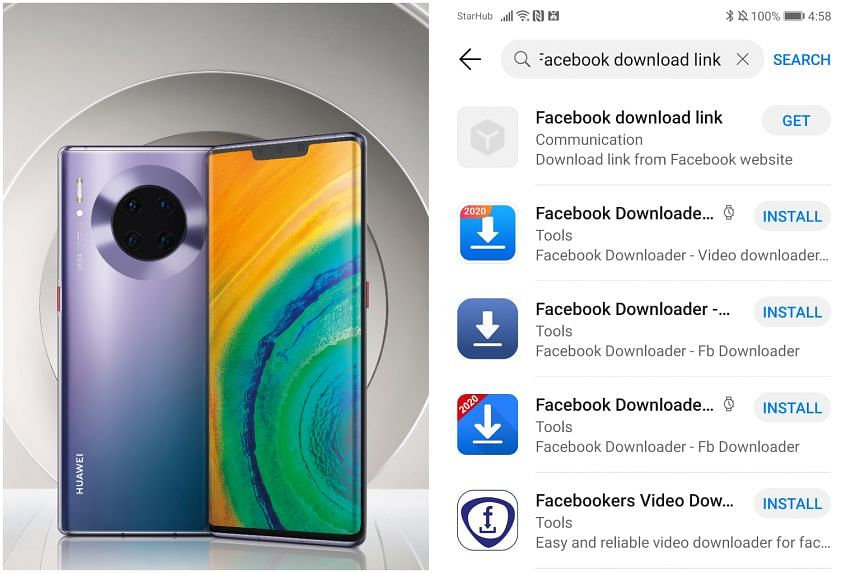 The Huawei Mate 30 series smartphones come with Huawei's very own app store - AppGallery, which is available in 139 countries and regions.