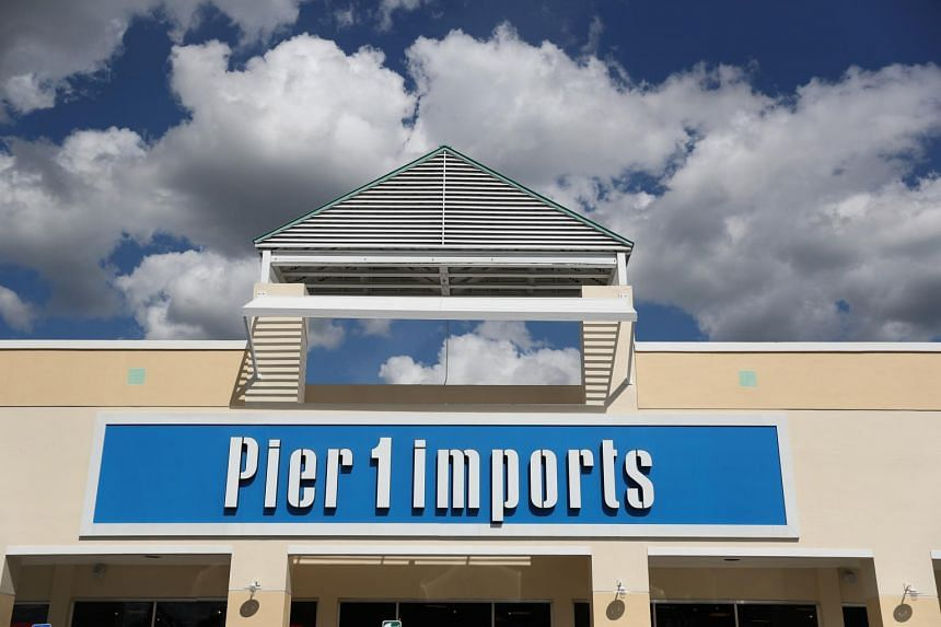 In a photo taken on Jan 7, 2020, the exterior of a Pier 1 Imports store is seen as the company announced plans to close up to 450 locations in Miami.