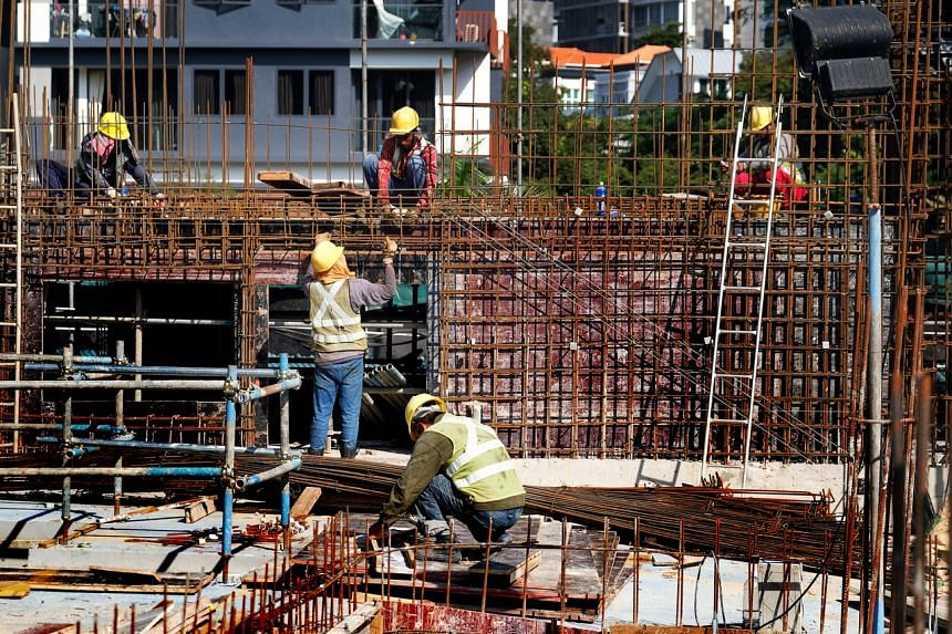 Singapore construction firms are asking for advice about whether they have the option to invoke force majeure clauses as Chinese labour is turned away or quarantined to stop the spread of the coronavirus.