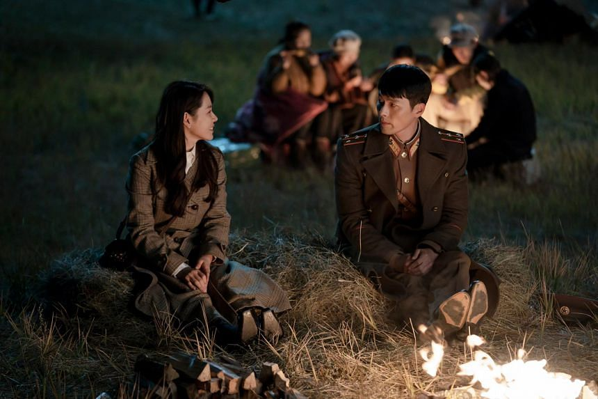 """A still from television drama series """"Crash Landing on You"""" starring actress Son Ye-jin and actor Hyun Bin."""