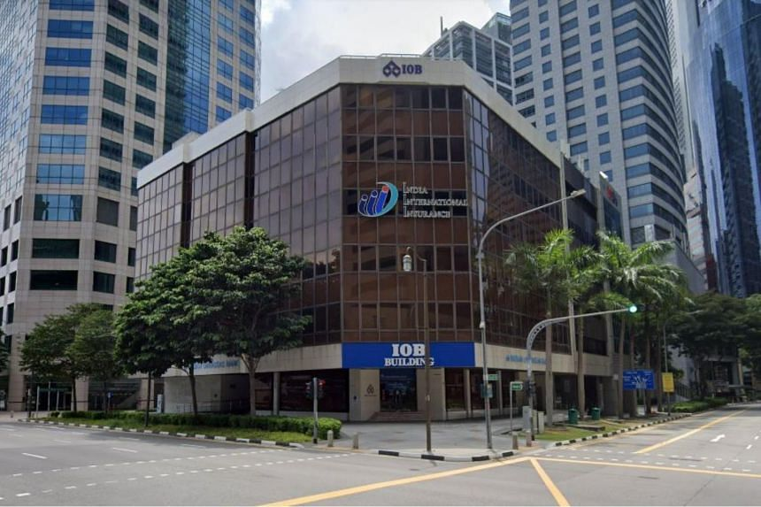 The IOB Building at 64 Cecil Street has been put up for sale via tender at an overall guide price of $217.7 million.