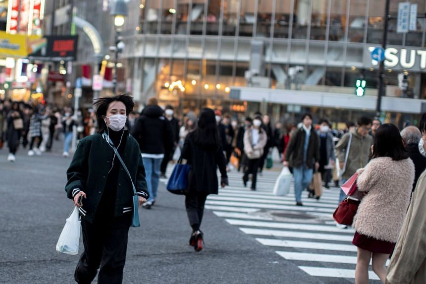 Masks have sold out at many drug and discount stores across Japan.