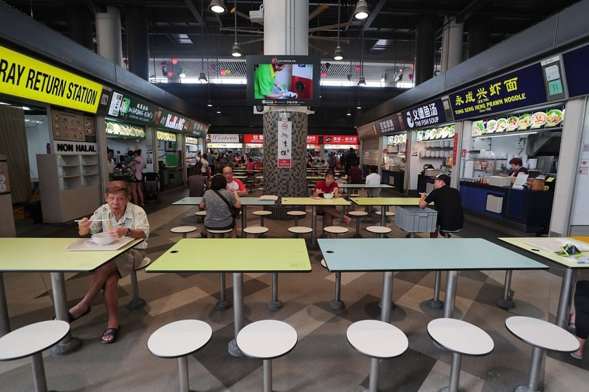 Deputy PM Heng Swee Keat said that stallholders at hawker centres and markets managed by the National Environment Agency will be given one month's worth of rental waivers, with a minimum waiver of $200.